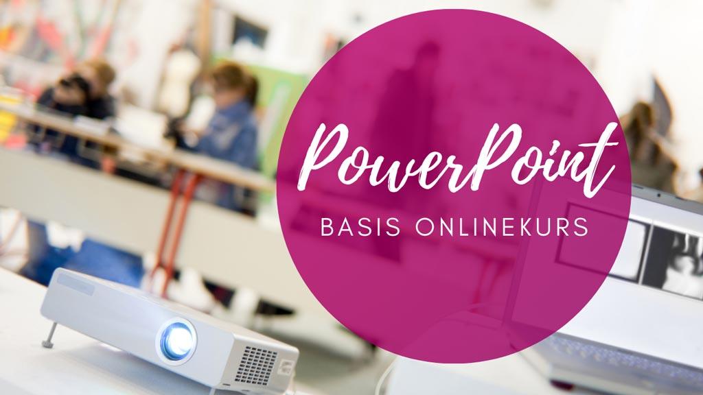 Onlinekurs PowerPoint Basis