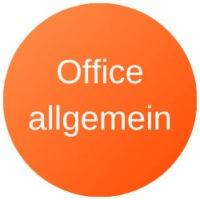 Microsoft Office-Allgemein