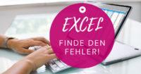 Workshop Excel Finde den Fehler