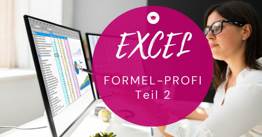 Online-Workshop Excel Forme-Profi 2